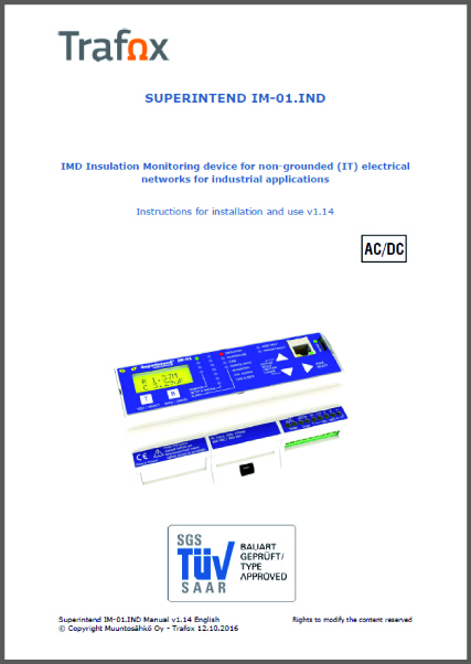 IMD IND Insulation Monitoring Device manual