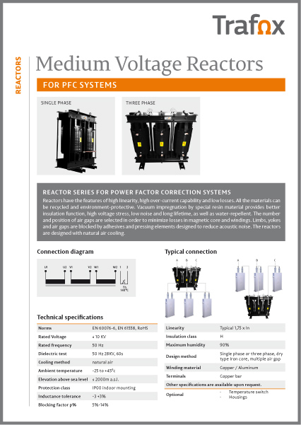 Medium Voltage Reactors