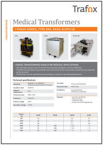 MEDICAL TRANSFORMERS